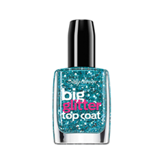 Топы Sally Hansen Big Glitter Top Coat 120 (Цвет 120 variant_hex_name 206572)