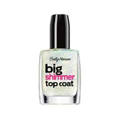 Топы Sally Hansen Big Shimmer Top Coat 110 (Цвет 110 variant_hex_name E3DDDE)