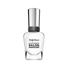 Лак для ногтей Sally Hansen Complete Salon Manicure™ 110 (Цвет 110 Clear'd for Takeoff variant_hex_name F7F7F6) уход за кутикулой sally hansen complete salon manicure cuticle eraser balm объем 8 г