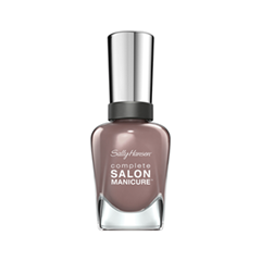 Лак для ногтей Sally Hansen Complete Salon Manicure™ 370 (Цвет 370 Comander In Chic variant_hex_name 8E726F) уход за кутикулой sally hansen complete salon manicure cuticle eraser balm объем 8 г