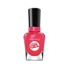 Гель-лак для ногтей Sally Hansen Miracle Gel 220 (Цвет 220 Pink Tank variant_hex_name C81549) топы sally hansen miracle gel top coat цвет прозрачный variant hex name ffffff