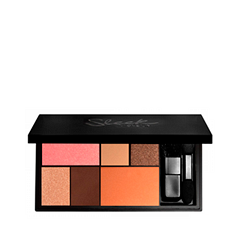 Тени для век Sleek MakeUP Eye & Cheek Palette - Dancing Til Dusk sleek makeup палетка теней quattro eye shadow 2 оттенка палетка теней quattro eye shadow midnight blues тон 332