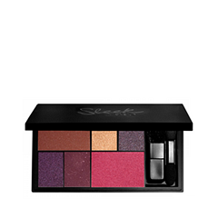 Тени для век Sleek MakeUP Eye & Cheek Palette - See You At Midnight sleek makeup палетка теней quattro eye shadow 2 оттенка палетка теней quattro eye shadow midnight blues тон 332