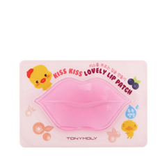 Бальзам для губ Tony Moly Патчи для губ Kiss Kiss Lovely Lip Patch спонж tony moly water latex free sponge 1 шт