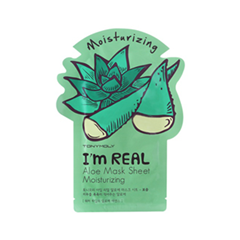 Тканевая маска Tony Moly I'm Real Aloe Mask Sheet (Объем 21 мл) тканевая маска tony moly pureness 100 shea butter mask sheet объем 21 мл