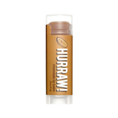 Бальзам для губ Hurraw! Chocolate Lip Balm hurraw бальзам для губ almond lip balm 4 3 г