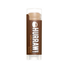 Бальзам для губ Hurraw! Coffee Bean Lip Balm hurraw бальзам для губ unscented lip balm 4 3 г