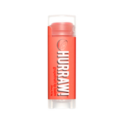 Бальзам для губ Hurraw! Grapefruit Lip Balm hurraw бальзам для губ unscented lip balm 4 3 г
