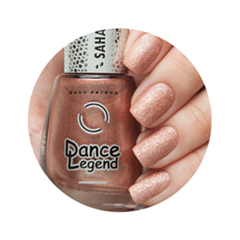 Лаки для ногтей с эффектами Dance Legend Sahara Crystal Metal 53 (Цвет 53 Cuprum variant_hex_name C98676 Вес 20.00)