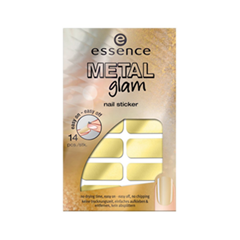 ������ ������ essence �������� ��� ������ Metal Glam Nail Stickers 02 (���� 02 She�s So Glamorous)