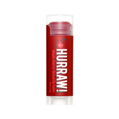 Бальзам для губ Hurraw! Black Cherry Tinted Lip Balm hurraw бальзам для губ корица tinted cinnamon lip balm бальзам для губ корица tinted cinnamon lip balm 1 шт