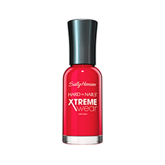 Лак для ногтей Sally Hansen Hard As Nails Xtreme Wear (Цвет 160 Cherry Red variant_hex_name B1243E)