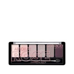 Тени для век Catrice Absolute Rose Eyeshadow Palette (Цвет 010 Frankie Rose To Hollywood variant_hex_name ECC8C2)