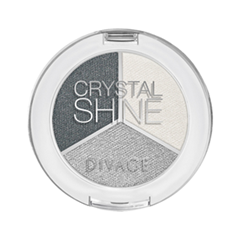 Тени для век Divage Crystal Shine 01 (Цвет 01)