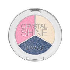 Тени для век Divage Crystal Shine 02 (Цвет 02)