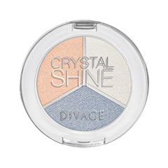 Тени для век Divage Crystal Shine 03 (Цвет 03 variant_hex_name A9B4C6)
