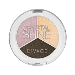 Тени для век Divage Crystal Shine 04 (Цвет 04)
