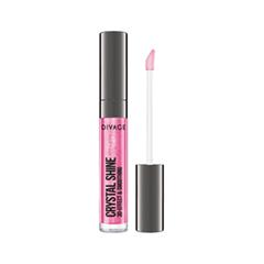 Блеск для губ Divage Crystal Shine 09 (Цвет 09 variant_hex_name E0578F) divage lipstick crystal shine губная помада тон 26 4 5 мл