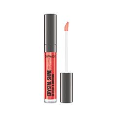 Блеск для губ Divage Crystal Shine 10 (Цвет 10 variant_hex_name CC252F) divage lipstick crystal shine губная помада тон 26 4 5 мл