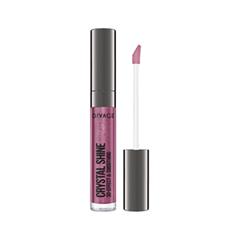 Блеск для губ Divage Crystal Shine 14 (Цвет 14 variant_hex_name 893D61) divage lipstick crystal shine губная помада тон 26 4 5 мл