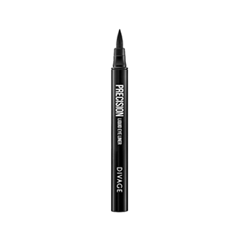 Подводка Divage Precision Liquid Eye Liner 101 (Цвет 101 variant_hex_name 060405) босоножки sweet shoes sweet shoes sw010awtbr38