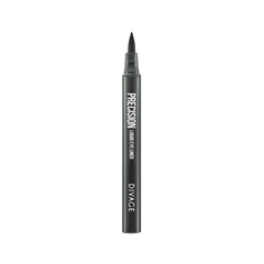 Подводка Divage Precision Liquid Eye Liner 102 (Цвет 102 variant_hex_name 818D99)