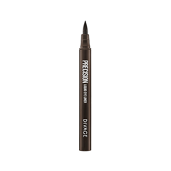 Подводка Divage Precision Liquid Eye Liner 104 (Цвет 104 variant_hex_name 6A503F)