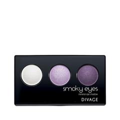 Купить Тени для век Smoky Eyes 01 (Цвет 9601)  Тени для век Divage