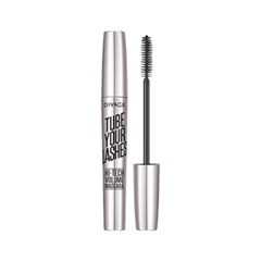 Тушь для ресниц Divage Tube Your Lashes Hi-Tech Volume Mascara 01 (Цвет 01 variant_hex_name 000000) пуф dreambag модерна черная кожа