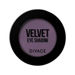 Тени для век Divage Velvet 17 (Цвет 7317 variant_hex_name 715B72) тени для век divage velvet 11 цвет 7311 variant hex name 5c6550