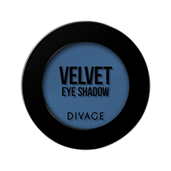 Тени для век Divage Velvet 18 (Цвет 7318 variant_hex_name 3C6289)
