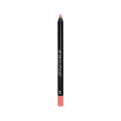 Карандаш для губ Provoc Semi-Permanent Gel Lip Liner 41 (Цвет 41 Kiss Me in the Nude variant_hex_name EA8275) карандаш для глаз provoc semi permanent gel eye liner 80 цвет 80 practically magic variant hex name 4d4434