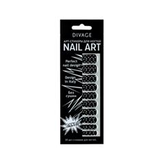 Дизайн ногтей Divage Sticker Nail Care 02 (Цвет 02 variant_hex_name 000000)