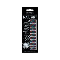 Дизайн ногтей Divage Sticker Nail Care 03 (Цвет 03 variant_hex_name 006D5A)