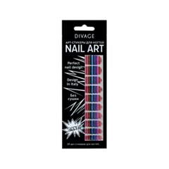 Дизайн ногтей Divage Sticker Nail Care 04 (Цвет 04 variant_hex_name 464000)