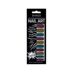 Дизайн ногтей Divage Sticker Nail Care 05 (Цвет 05 variant_hex_name 982640)