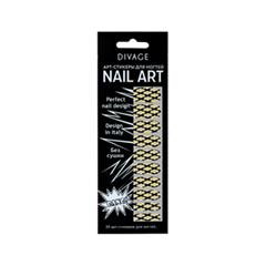 Дизайн ногтей Divage Sticker Nail Care 06 (Цвет 06 variant_hex_name DBDFE2)