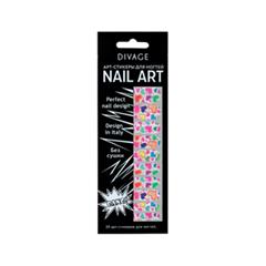 Дизайн ногтей Divage Sticker Nail Care 07 (Цвет 07 variant_hex_name DE449A)