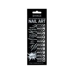 Дизайн ногтей Divage Sticker Nail Care 08 (Цвет 08 variant_hex_name 0B090A)