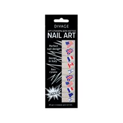 Дизайн ногтей Divage Sticker Nail Care 14 (Цвет 14 variant_hex_name DDD8D5)