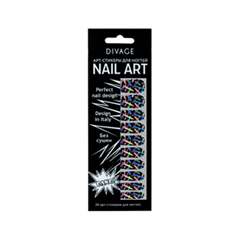 Дизайн ногтей Divage Sticker Nail Care 16 (Цвет 16 variant_hex_name 0275B4)