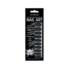 Дизайн ногтей Divage Sticker Nail Care 19 (Цвет 19 variant_hex_name 000000)