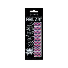 Дизайн ногтей Divage Sticker Nail Care 20 (Цвет 20 variant_hex_name DA3F4F)
