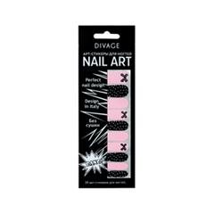 Дизайн ногтей Divage Sticker Nail Care 21 (Цвет 21 variant_hex_name F2BFD2)