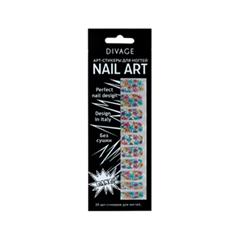 Дизайн ногтей Divage Sticker Nail Care 22 (Цвет 22 variant_hex_name 0294B9)