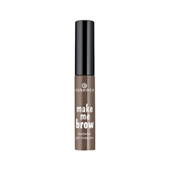 Тушь для бровей essence Make Me Brow Eyebrow Gel Mascara 02 (Цвет 02 Browny Brows variant_hex_name 614D42) long mesh sheer slip babydoll page 2