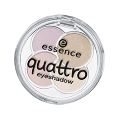 ���� ��� ��� essence Quattro Eyeshadow 17 (���� 17 Cr?me de la Cr?me)