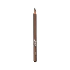 Карандаш для бровей Manly PRO Высокопигментированный карандаш для бровей 01 (Цвет КРB01 variant_hex_name 6F6060)