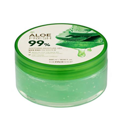Уход The Face Shop Гель Jeju Aloe Fresh Soothing Gel (Объем 300 мл) гель tony moly the chok chok green tea essential soothing gel объем 200 мл