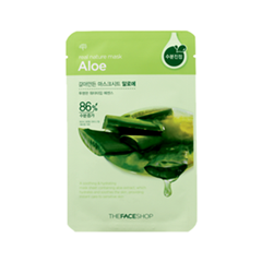 Тканевая маска The Face Shop Real Nature Mask Sheet Aloe
